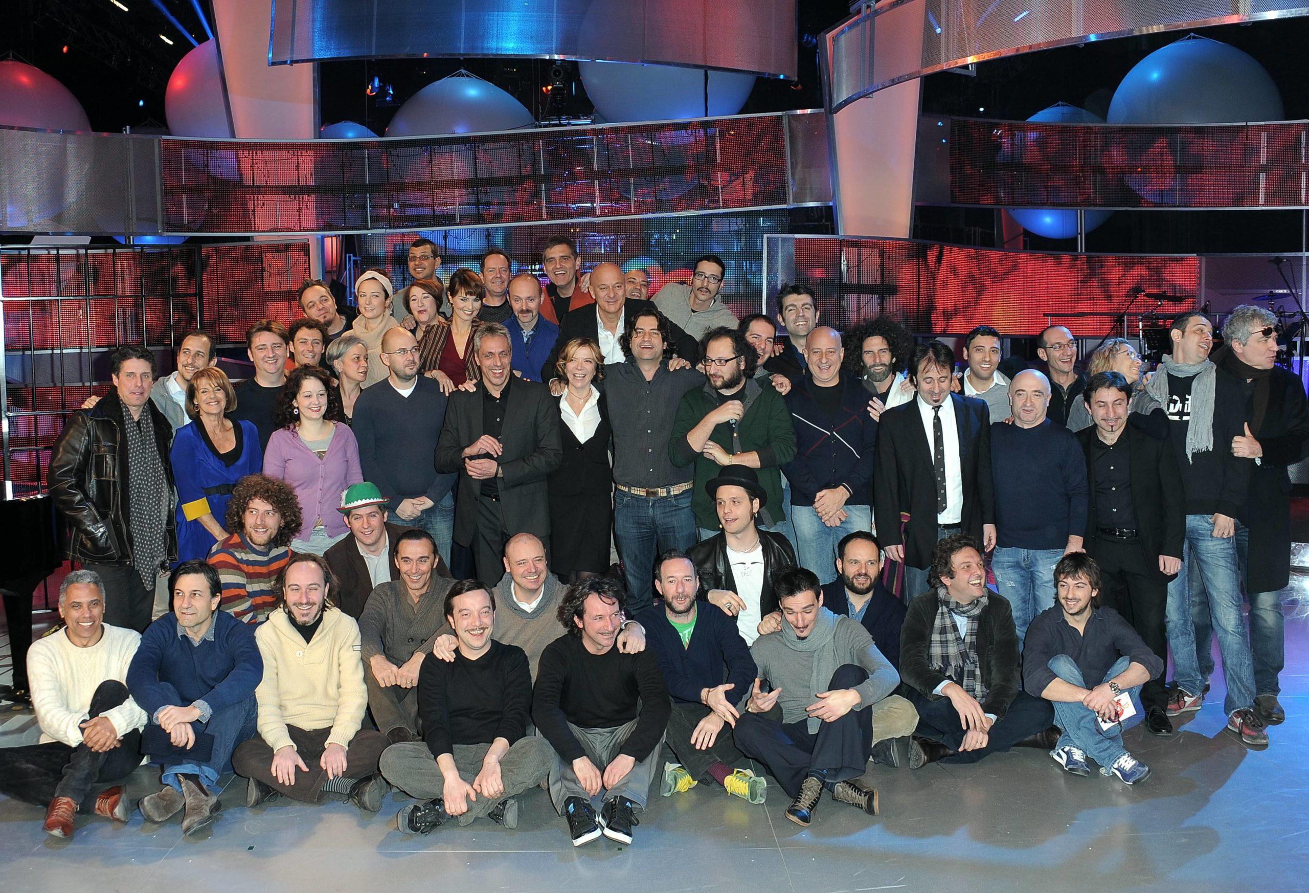 MEDIASET: PRESENTAZIONE DEL PROGRAMMA TV - ZELIG - CON CLAUDIO BISIO E PAOLA CORTELLESI